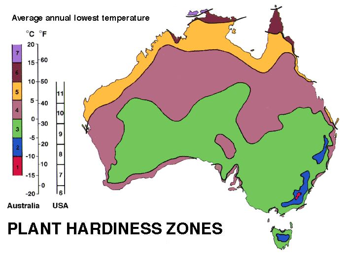 A Usda Hardiness Zone Is A Defined Geographical Area Where A Specific Category Of Plant Life Is Able To Grow The Below Usda Planting Zones Map Shows