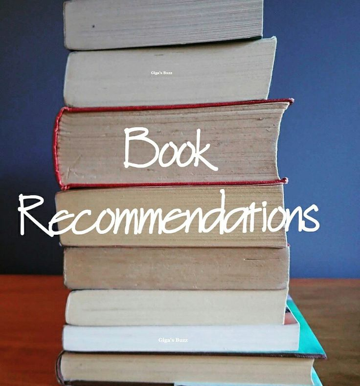 Check out my book recommendations