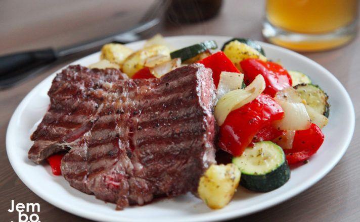 Stek Warzywa Z Patelni Plus Zimne Piwo Czyli Jak