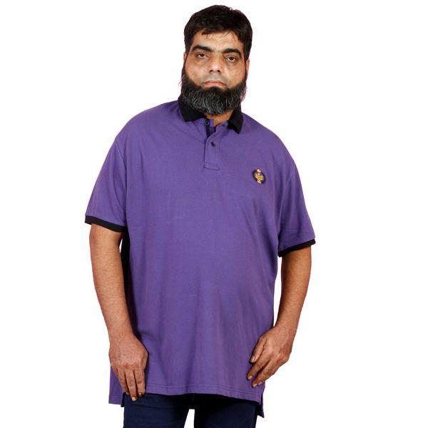 Purple Polo Shirt XL/XXL/XXXL/XXXXL – Plus Size Clothing in Pakistan