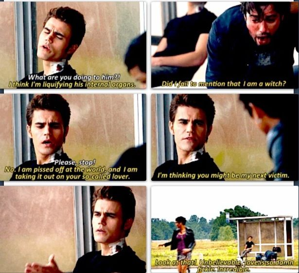 My favorite scene from last nigh! lol I love Silas