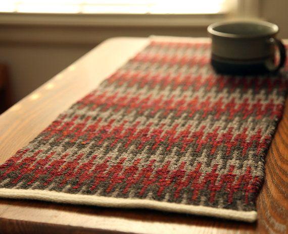 Basket Weave Table Runner Pattern : Best images about krokbragd on traditional