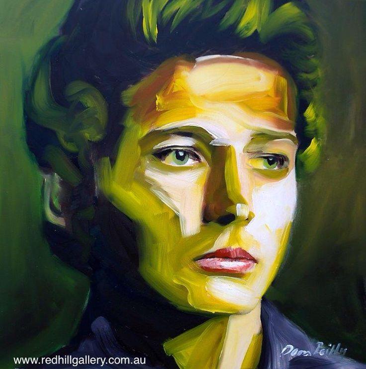 Dean Reilly 'Randiiball' 42x42cm.  61 Musgrave Road, Red Hill Brisbane, QLD, Australia. art@redhillgallery.com.au