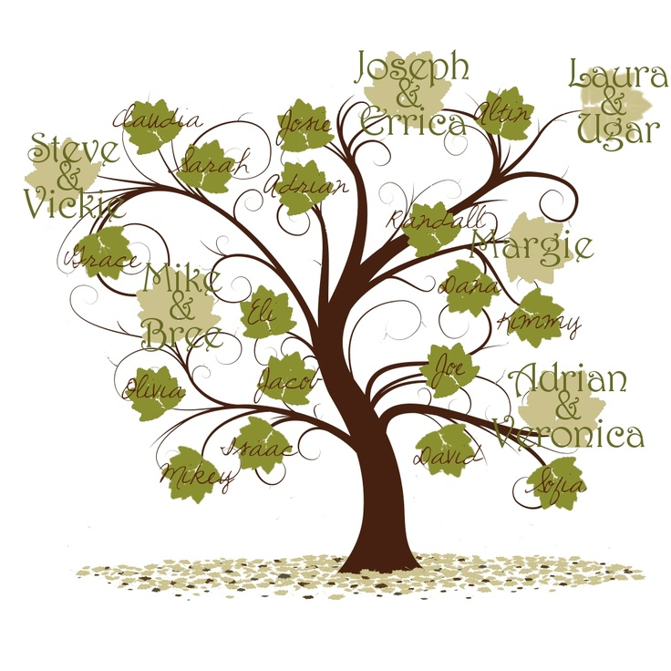 223 Best Family Tree Displays Images On Pinterest Family Tree