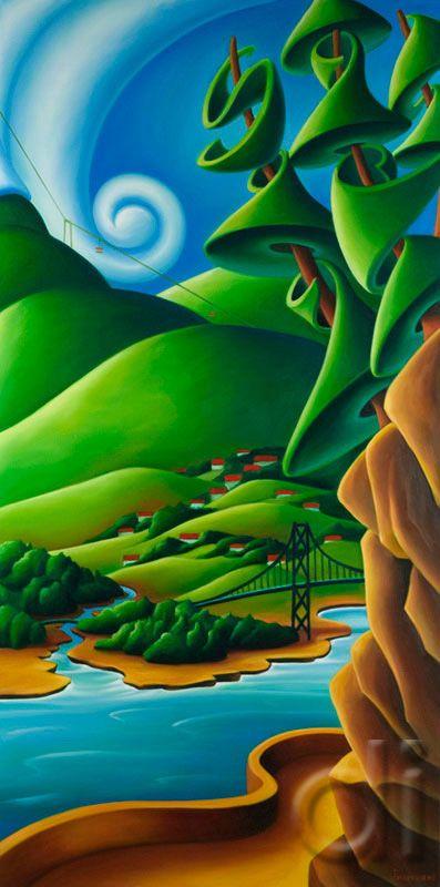 North Shore Vista ~ by Dana Irving