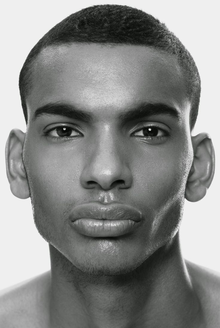 The Perfect Human Face: Ideal Male Face   Portrait
