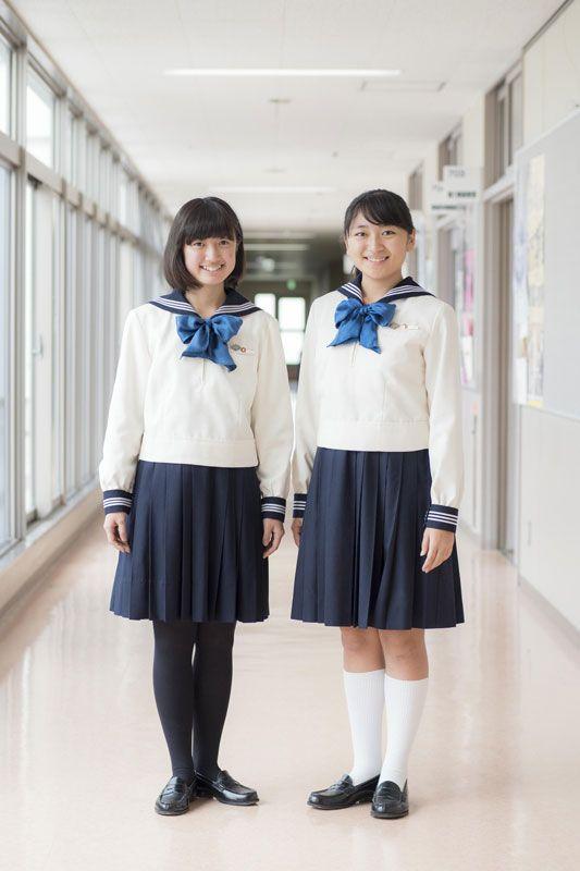 東京女学館中学校の制服(港区立十番中学・高校の制服参考)