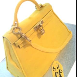 Hermes bag cake! All edible!! Www ...