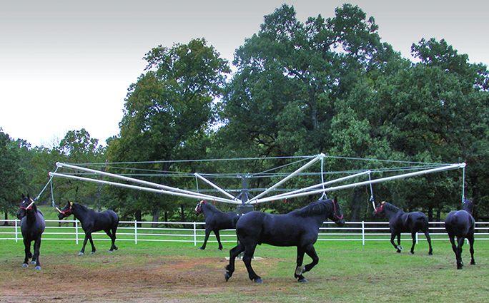 Lead Walker Horse Walker Priefert Dream Stable