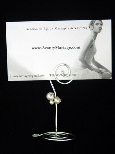 Marque-place perles ivoireshttp://www.azantymariage.com/marque-place-perles-ivoires,fr,4,marque-place-perles-1.cfm