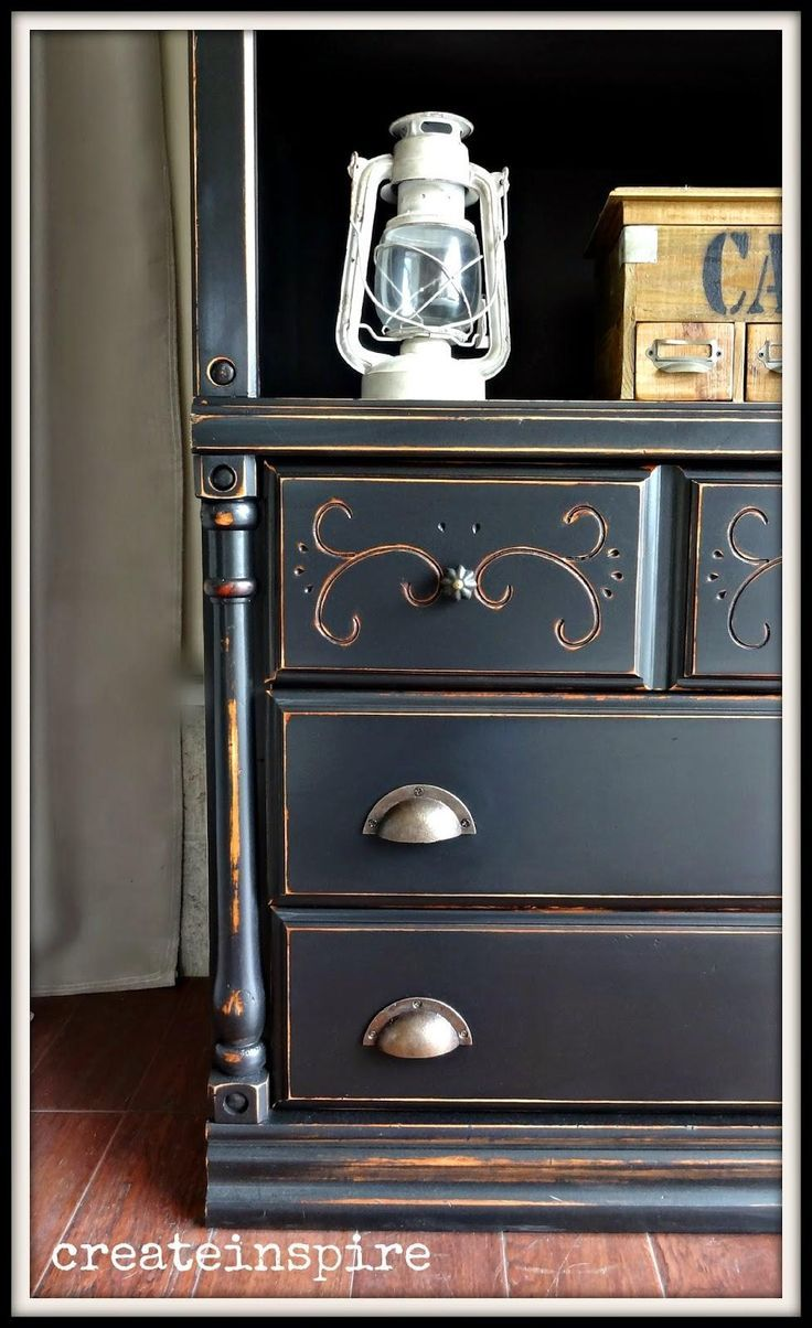 Painting furniture black ideas - Find This Pin And More On Black Painted Furniture Ideas