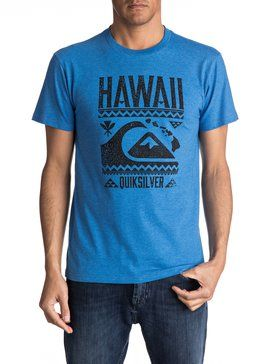 quiksilver, Aloalo Tee, TURKISH SEA HEATHER (bqsh)
