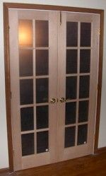 Interior double French doors. To replace our bi-fold doors.