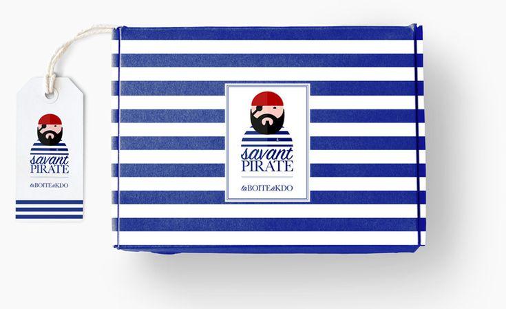 Savant Pirate Boite à KDO Packaging