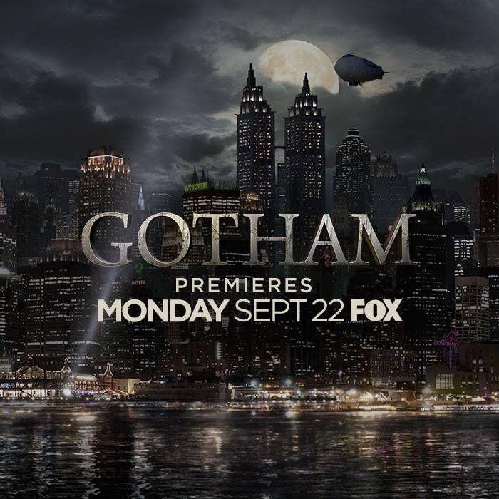 Gotham Premiers Monday, September 22nd On Fox - Cosmic Book News