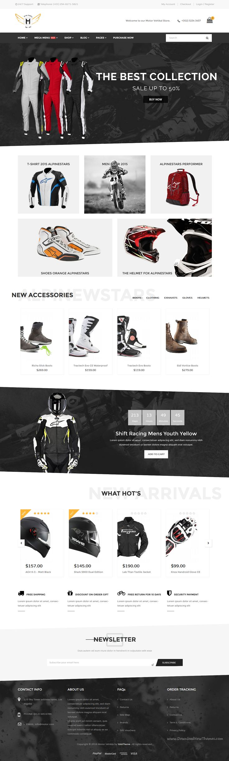 Motor Vehikal is a premium WordPress Theme for motorcycle, car or bicycle online stores website with 10+ Home Pages, 05 product page, 03+ blog page, 09 header styles, 11 footer styles and more Download Now➝ https://themeforest.net/item/motor-vehikal-motorcycle-online-store-wordpress-theme/15895102?ref=Datasata
