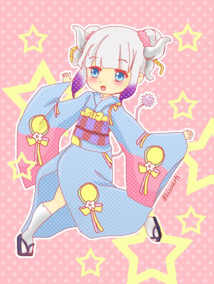 kanna kamui anime kobayashi-san chi no maid dragon