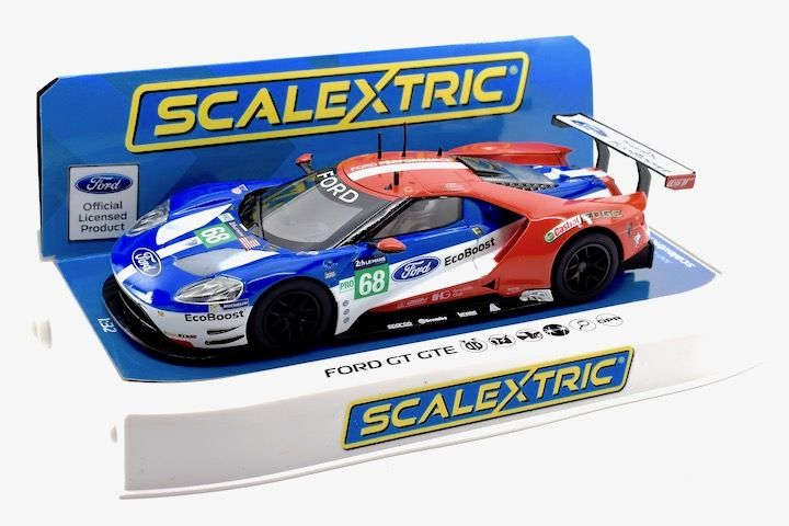 Scalextric C Ford Gt Imsa  Ford Chip Ganassi Team Usa Joey Hand Dirk Muller Tony Kanaan Rd Pl Oa Le Mans Nd Scale Slot Car