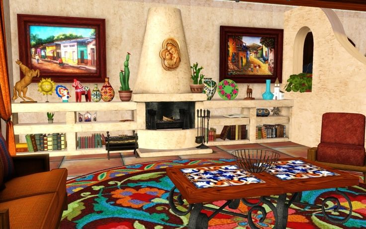 Best 25 mexican living rooms ideas on pinterest m s for Mexican living room ideas