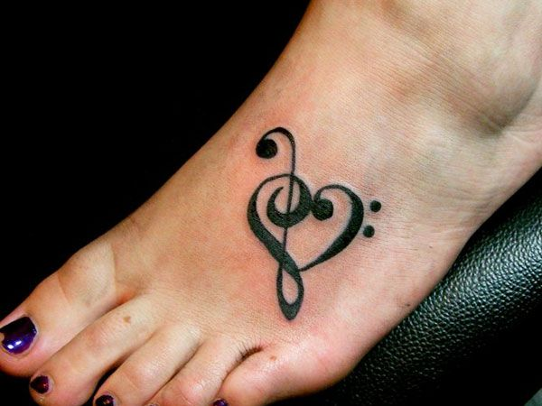 26 Upbeat Music Note Tattoo Designs - SloDive