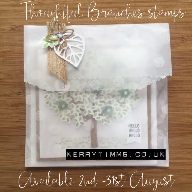 kerry timms stampin up thoughtful branches stamp card cardmaking gloucester papercraft create creative class female hobby ther