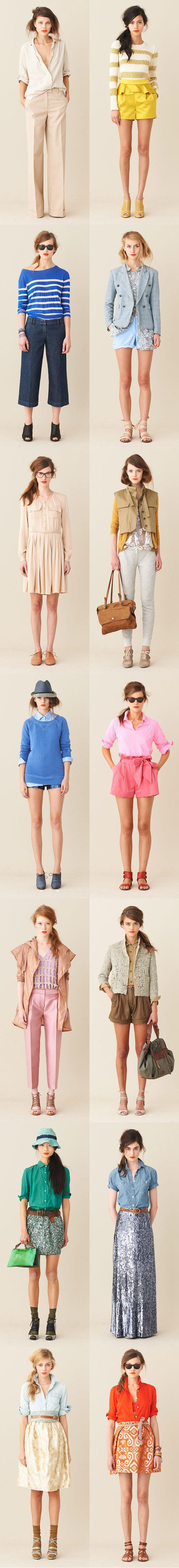 Love: J Crew Spring, J Crew Style, Style Inspiration, Clothing Collection, Cute Summer Outfits, Spring Lookbook, Preppy Skirts J Crew, Jcrew Spring Style, Lookbook 11