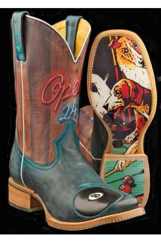 Pool Hall - Rack em Up Sole Tin Haul Pool Hall Guys Boot Cowboy Boots Urban  MENS BOOTS BUT I WANT THEM IN MENS SIZE 6