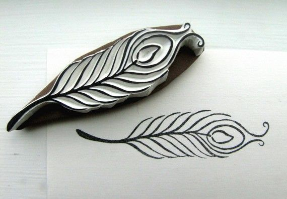 Peacock feather by lemonadesun on Etsy, $15.00