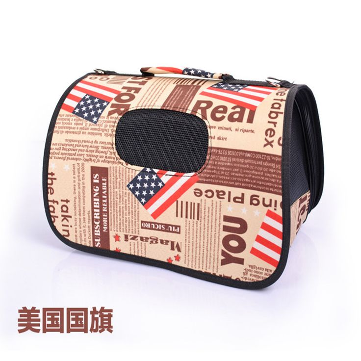 TOP Quality Pet Travel Carrier small dogs and cats Bag Folding Portable Breathable outdoor carrier pet Bag dog house S size