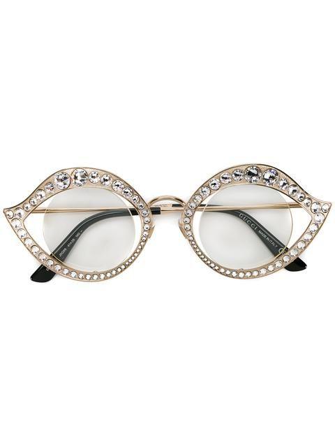 """Gucci солнцезащитные очки в оправе """"кошачий глаз"""""""