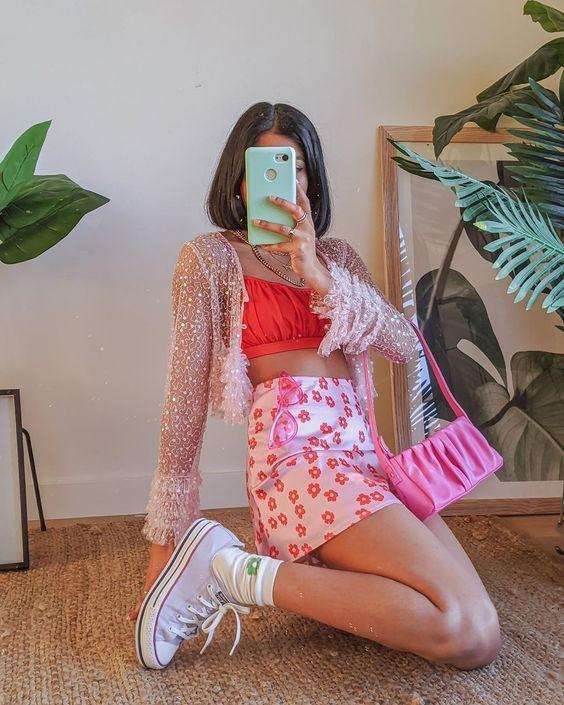 Looks noventeros para crear TikToks aesthetic   Colourful outfits, Fashion inspo outfits, Girly outfits