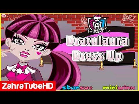 Monster High Draculaura   Dress Up Games