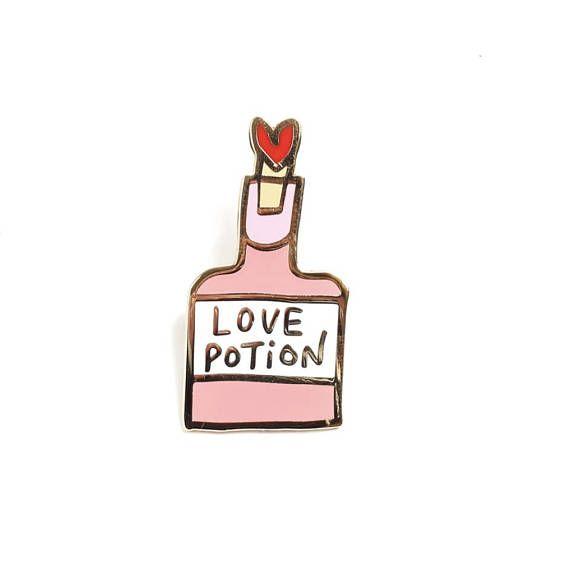 Love Potion, Enamel Pin