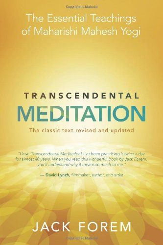 Transcendental Meditation: The Essential Teachings of Maharishi Mahesh Yogi. The classic text revised and updated by Jack Forem,http://www.amazon.com/dp/1401931561/ref=cm_sw_r_pi_dp_a789sb046TB8Y553