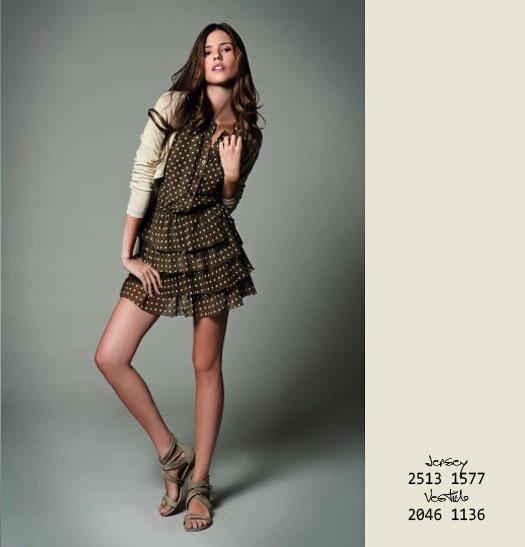 JS HERITAGE - Polka Dots Dress