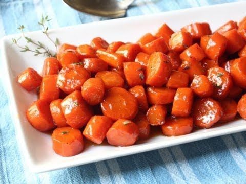 Bourbon Glazed Carrots from Chef John Food Wishes