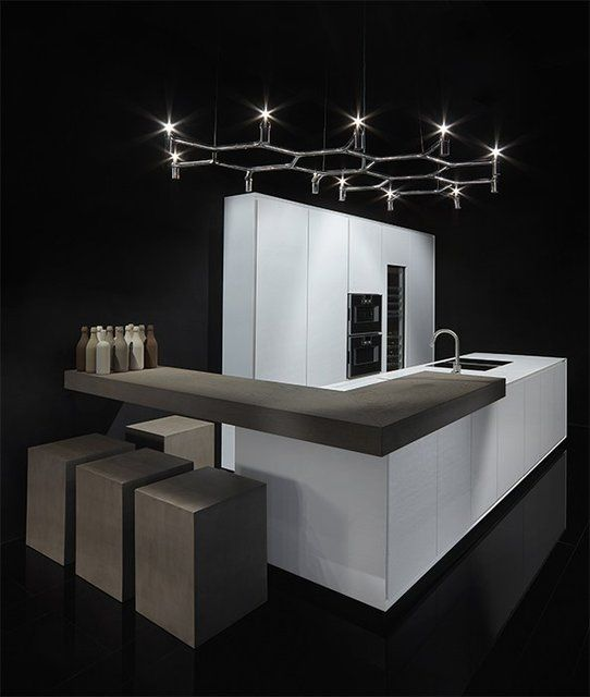 One,Kitchen furniture,Kitchens,kitchen,Contemporary Style Kitchens,Corian® Kitchens,Kitchens with island,Linear Kitchens,Kitchens without handles,Lacquered Kitchens,Composite Material Kitchens,Acrylic stone Kitchens