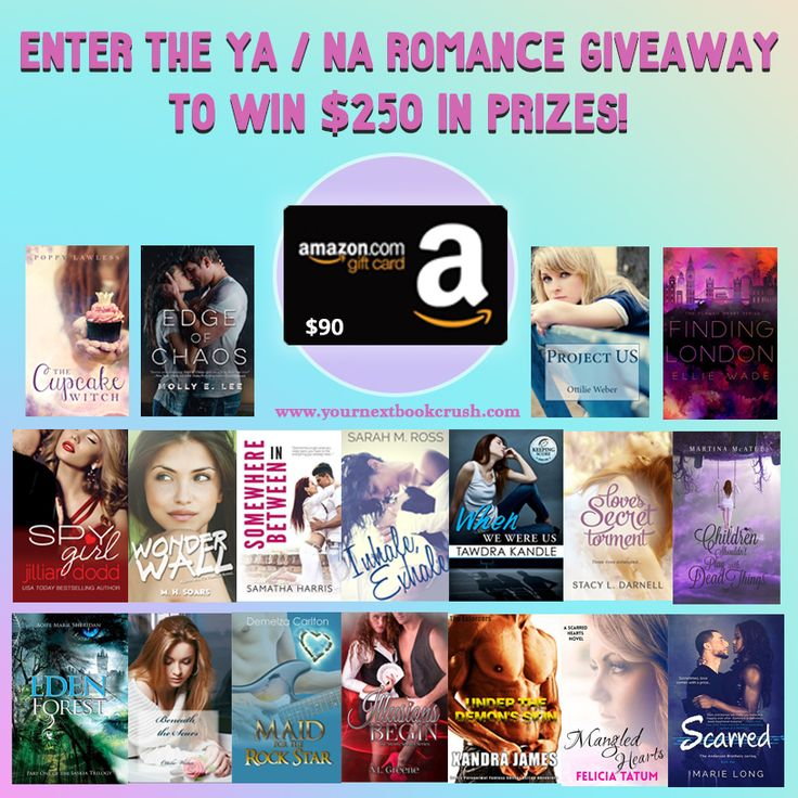 Cool for the Summer – YA/NA Contemporary Romance   http://yournextbookcrush.com/giveaways/cool-for-the-summer-ya-na-contemporary-romance-giveaway/?lucky=4164Giveaway
