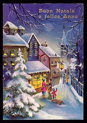 Cecami Serie 4962 Cartolina Buon Natale E Felice Anno Nuovo Fg Lucida Vg