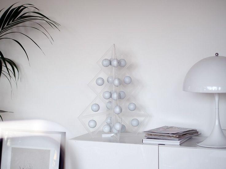 Tree24 reusable advent calendar - Acrylic  www.beandliv.com #design #homedecor #acrylic