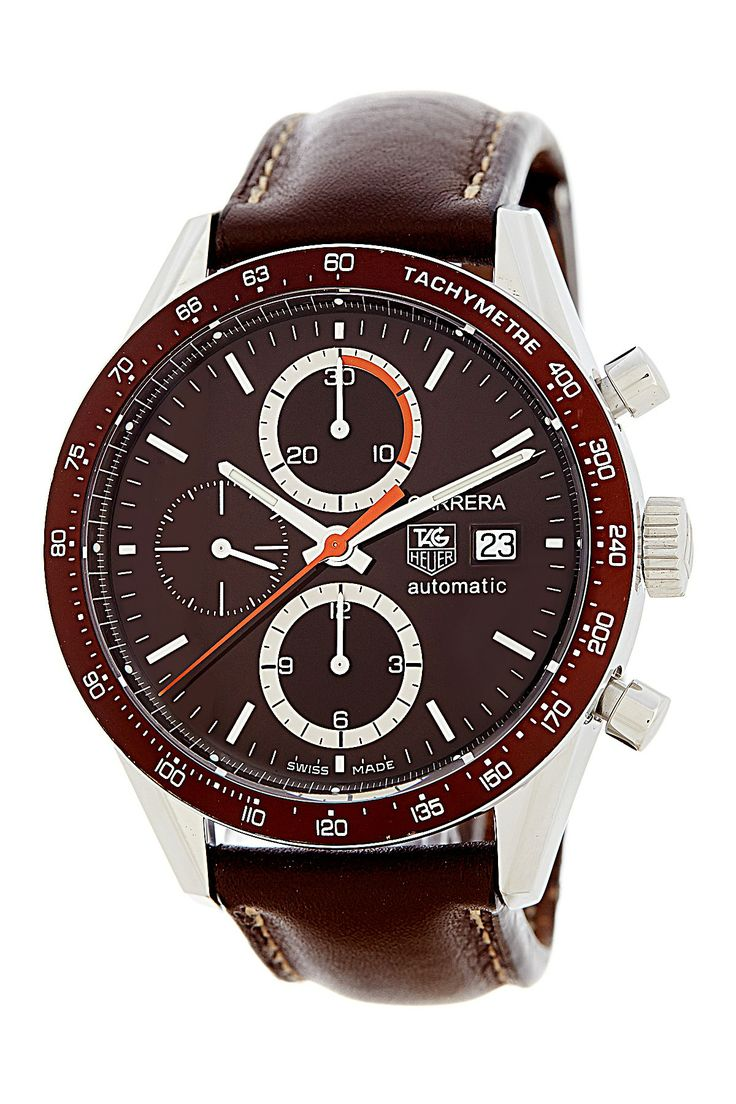 Tag Heuer Men's/Unisex Carrera Chronograph Stainless Steel Strap Watch