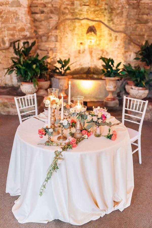 Elegant Floral-Filled Wedding in a Tuscany Villa in 2018
