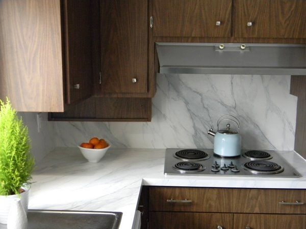 11 best images about formica countertop paint on pinterest for Painted countertop ideas