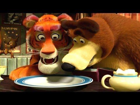 Маша и Медведь - Усатый - Полосатый - YouTube