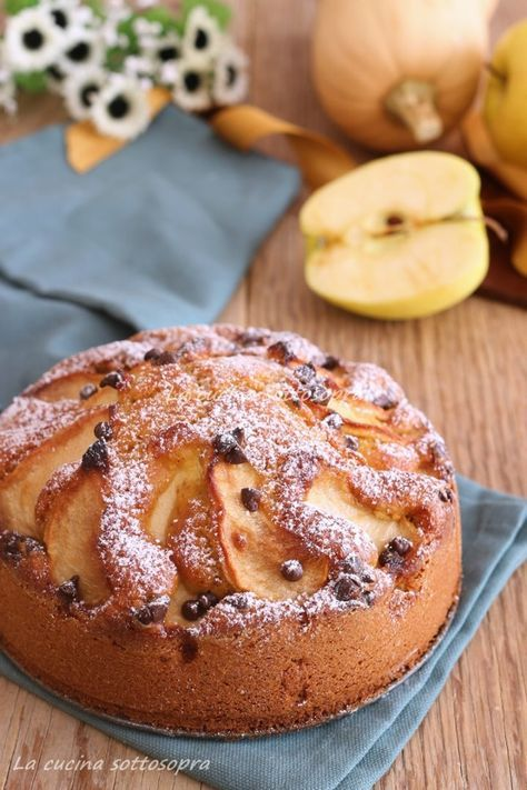 torta di mele alla zucca