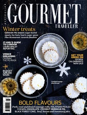 Gourmet Traveller - August 2013 #magazines #magsmoveme  http://www.gourmettraveller.com.au/