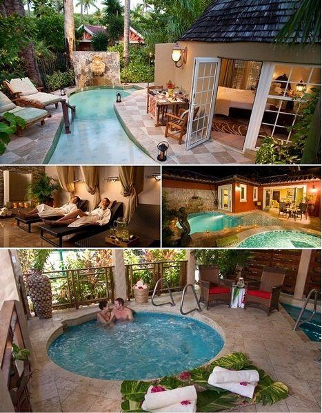 Who wouldn't want to honeymoon here?! Sandals Grand Antigua, third time winner of the World Travel Awards Top Caribbean Honeymoon Resort!