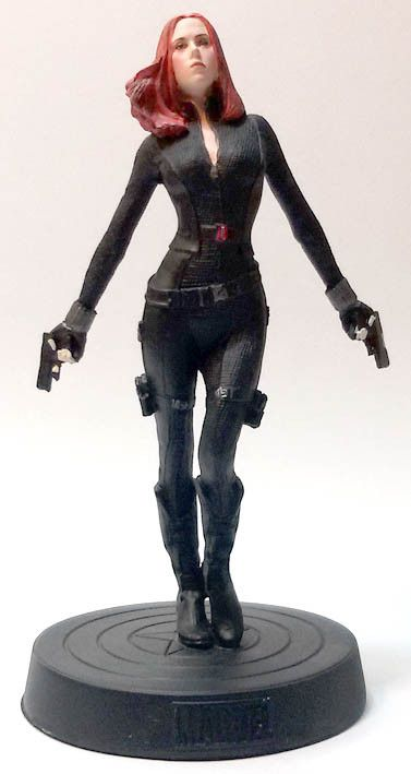 Vedova Nera (Black Widow), numero 2 della Marvel Movie Collection (Eaglemoss). #Marvel #BlackWidow