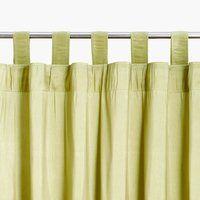 Függöny LUPIN 1x140x245cm zöld