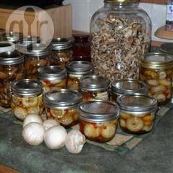 Маринованные грибы @ allrecipes.ru